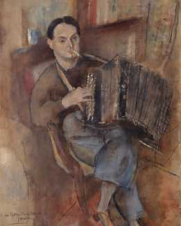 Pierre Mac Orlan in 1926, by Jules Pascin